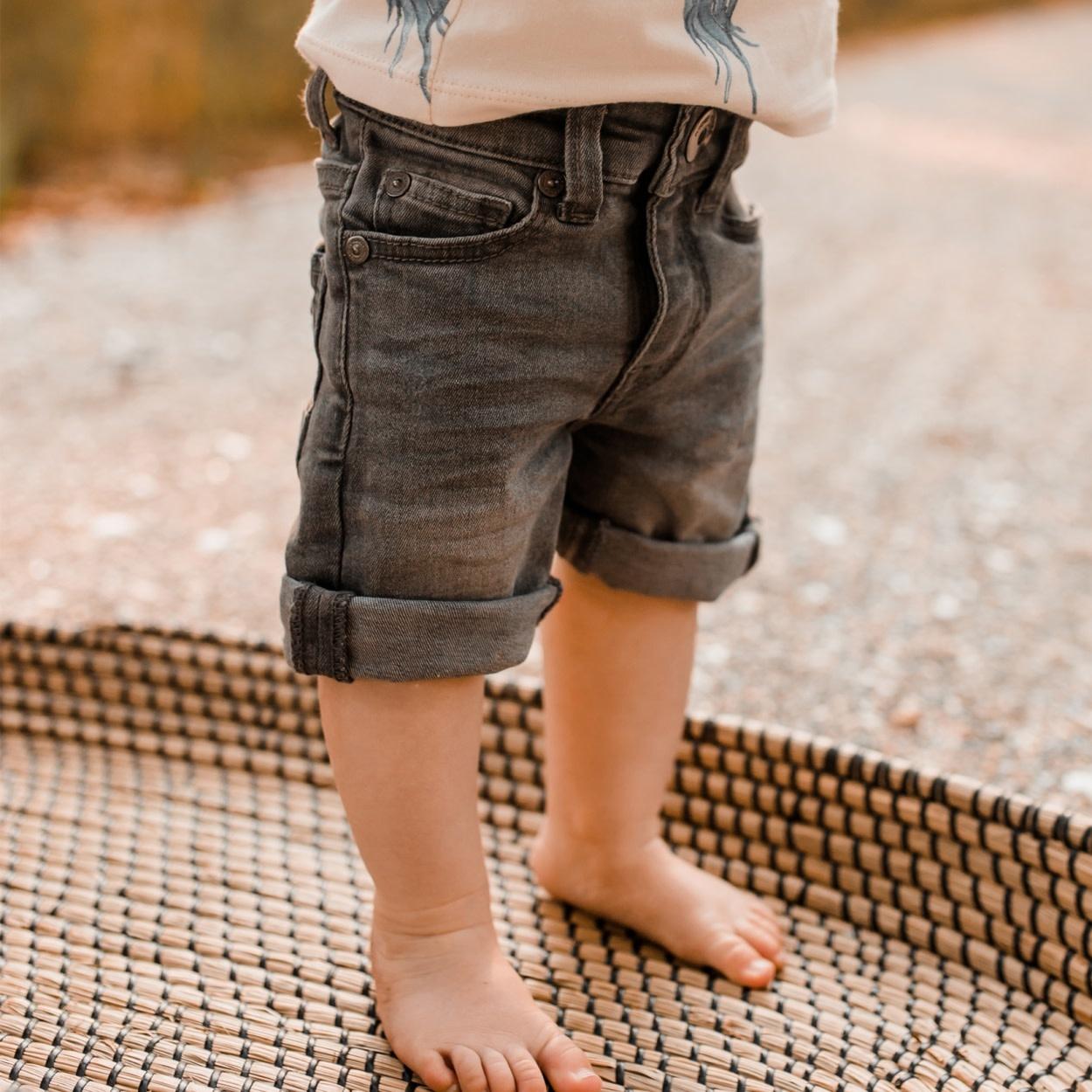 Your Wishes Denim Shorts | Denim Grey