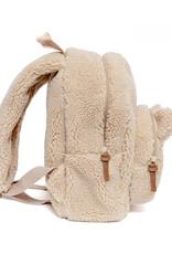 Petit Monkey Backpack teddy Sand