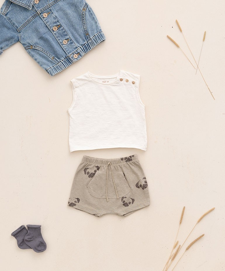 Play-up Printed Jersey short | Joao