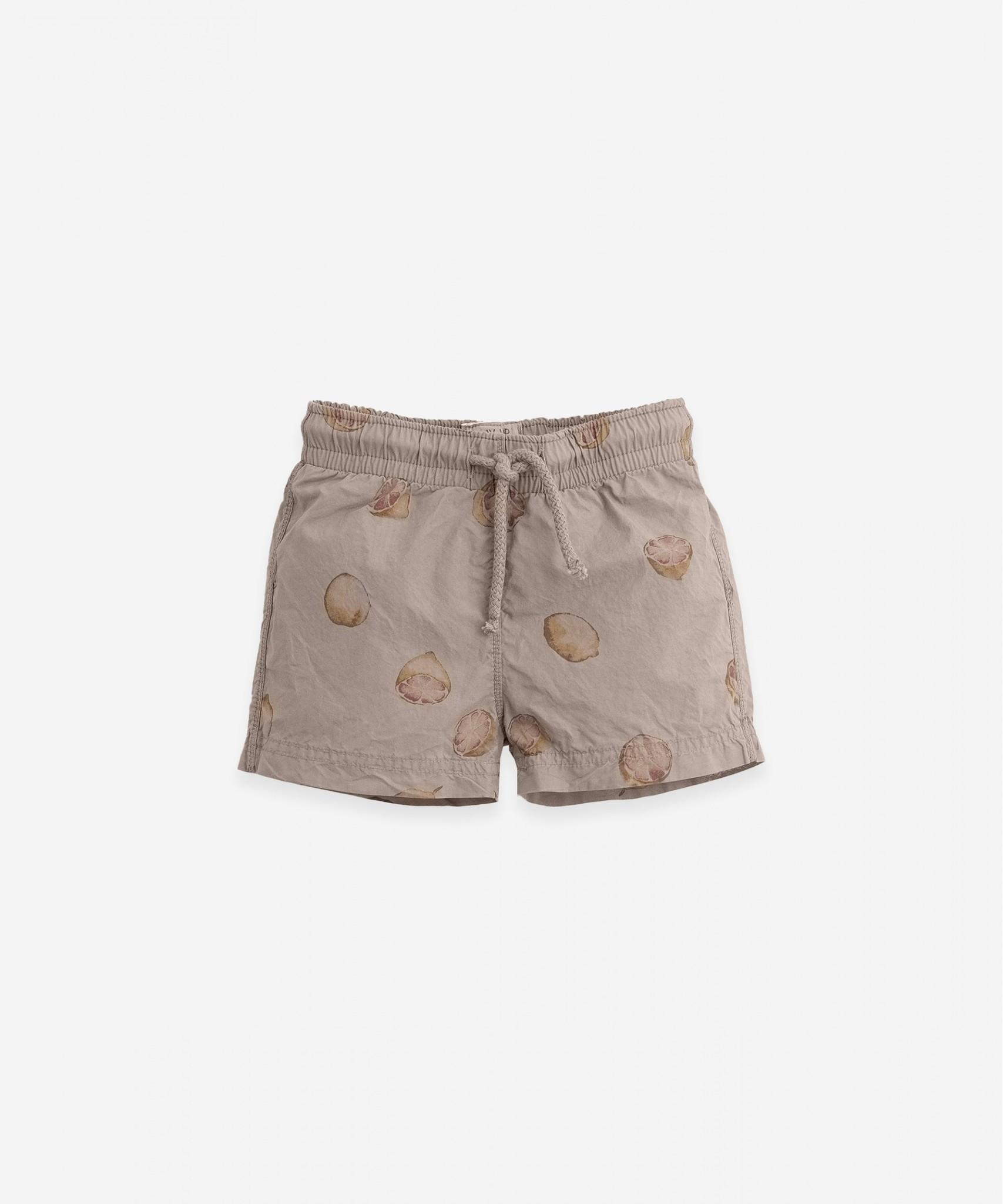 Play-up Printed Poplin swim shorts | Bicho