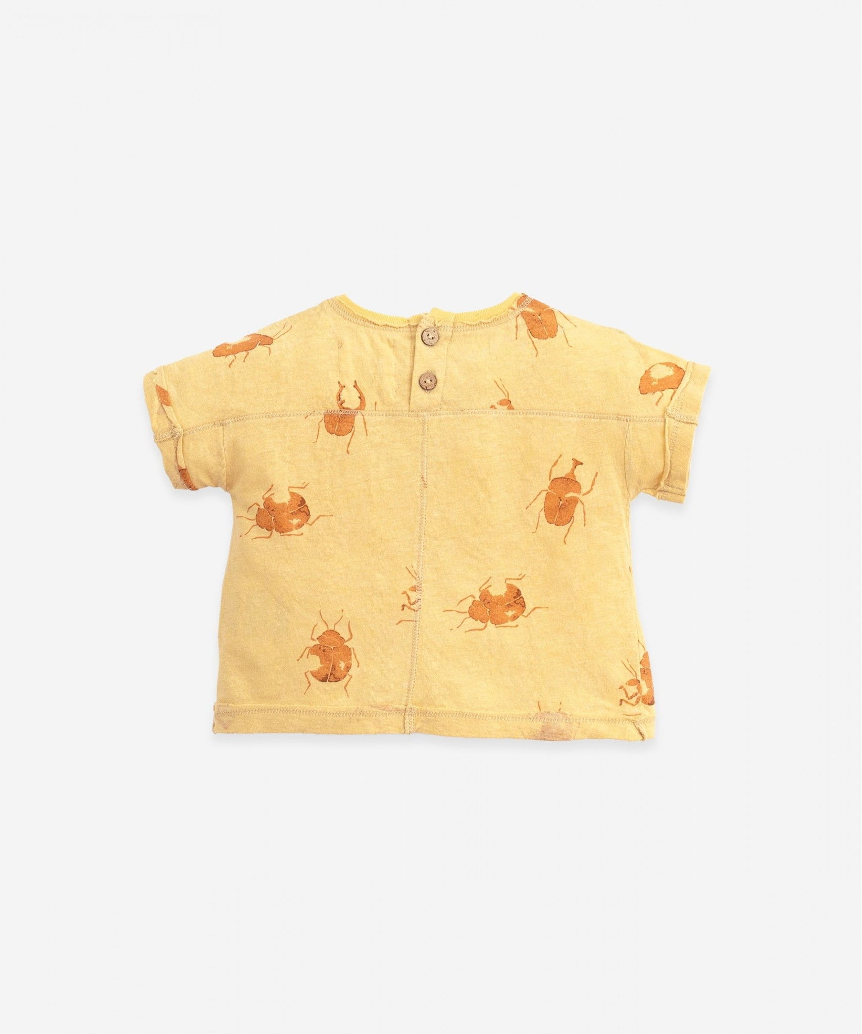 Play-up Printed Jersey t-shirt | Straw