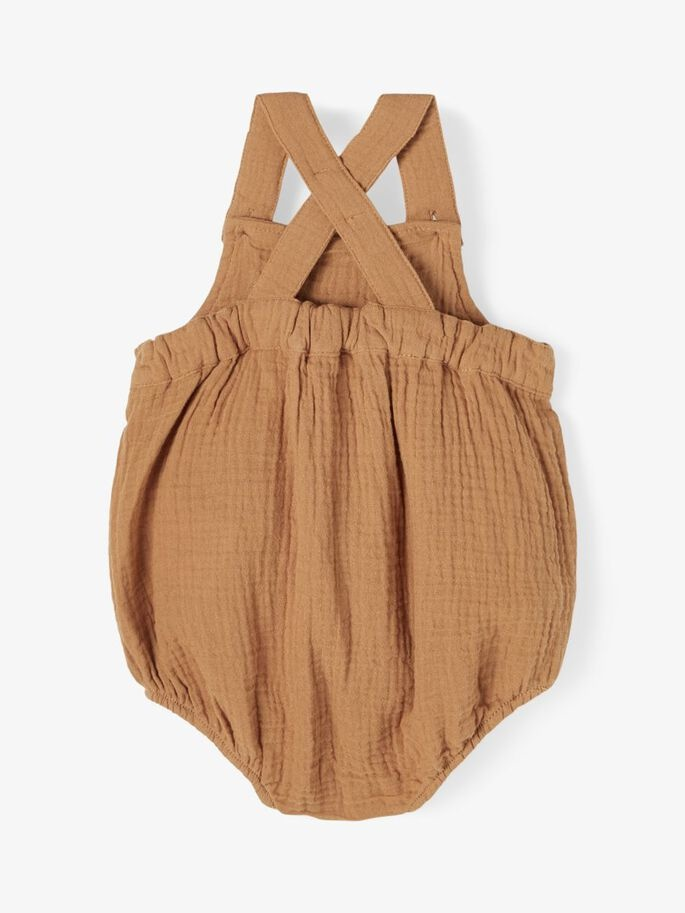 Lil Atelier Overall   Tobacco Brown