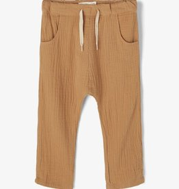 Lil Atelier Ancle pant | Tobacco Brown