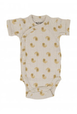 Lodger Romper SS Flame Tribe | Birch