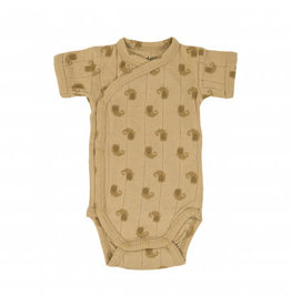 Lodger Romper SS Flame Tribe | Sand