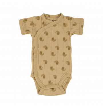Lodger Romper SS Flame Tribe   Sand