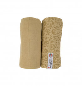 Lodger XL hydrofiele doek  2-pack | Sand