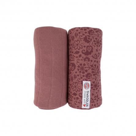 XL hydrofiele doek  2-pack | Rosewood