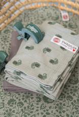 Lodger XL hydrofiele doek  2-pack | Silt Green