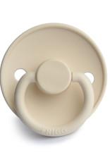 Frigg Fopspeen Silicone | Cream 6-18 mnd