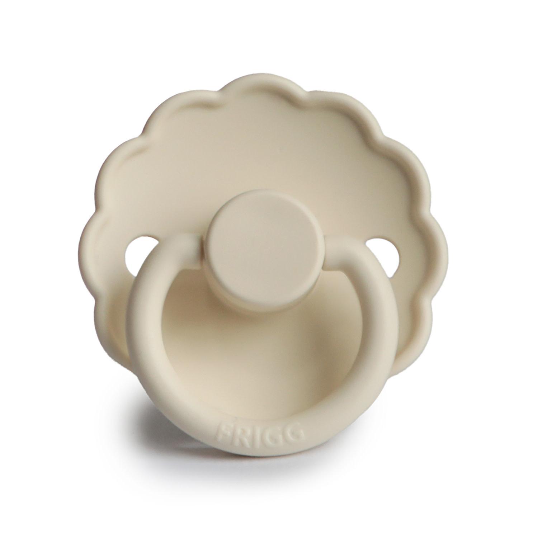 Frigg Fopspeen Silicone | Daisy - Cream 0-6 mnd
