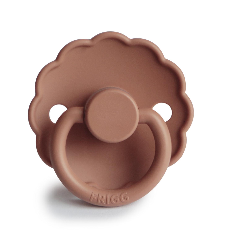Frigg Fopspeen Silicone | Daisy - Rose Gold 0-6 mnd