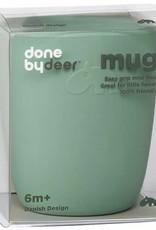 Done by Deer Silicone mini mug green