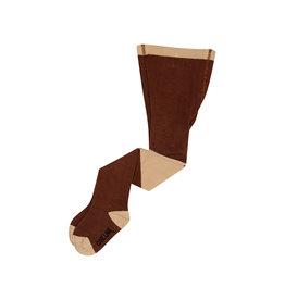 CarlijnQ Tights | diagonal brown/sand