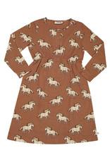 CarlijnQ Wild Horse | 2 button dress