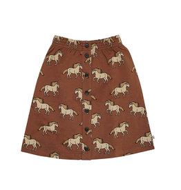 CarlijnQ Wild Horse | skirt wt buttons
