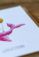 Juulz Illustrations Wenskaart | Gefeliciteerd
