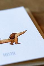 Juulz Illustrations Wenskaart | Feestje