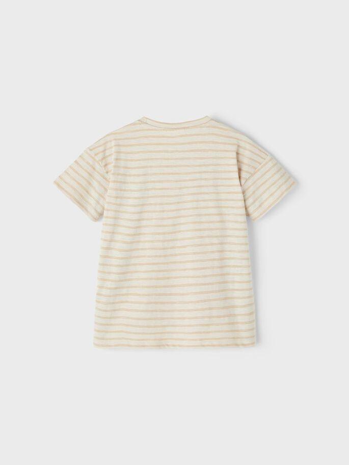 Lil Atelier Loose Tee | Stripe