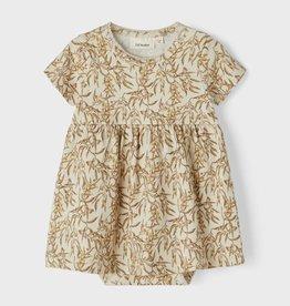 Lil Atelier Body Dress | Leaves