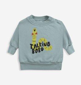 Bobo Choses Scholar worm sweatshirt