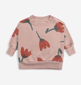 Bobo Choses Big flowers all over sweatshirt