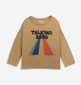 Bobo Choses Talking Bobo rainbow longsleeve t-shirt