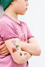 Petit Monkey Tattoos jungle animals