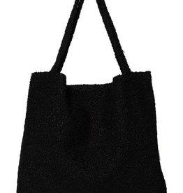 Studio Noos Black bouclé mom bag