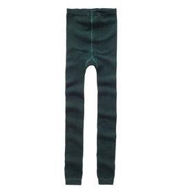 Mingo Sockless tights | Dark Emerald