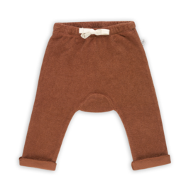 Blossom kids Baby pants terry   deep coral