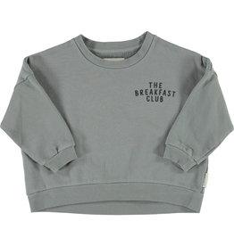 piupiuchick Unisex sweatshirt | grey w/ cereal box print