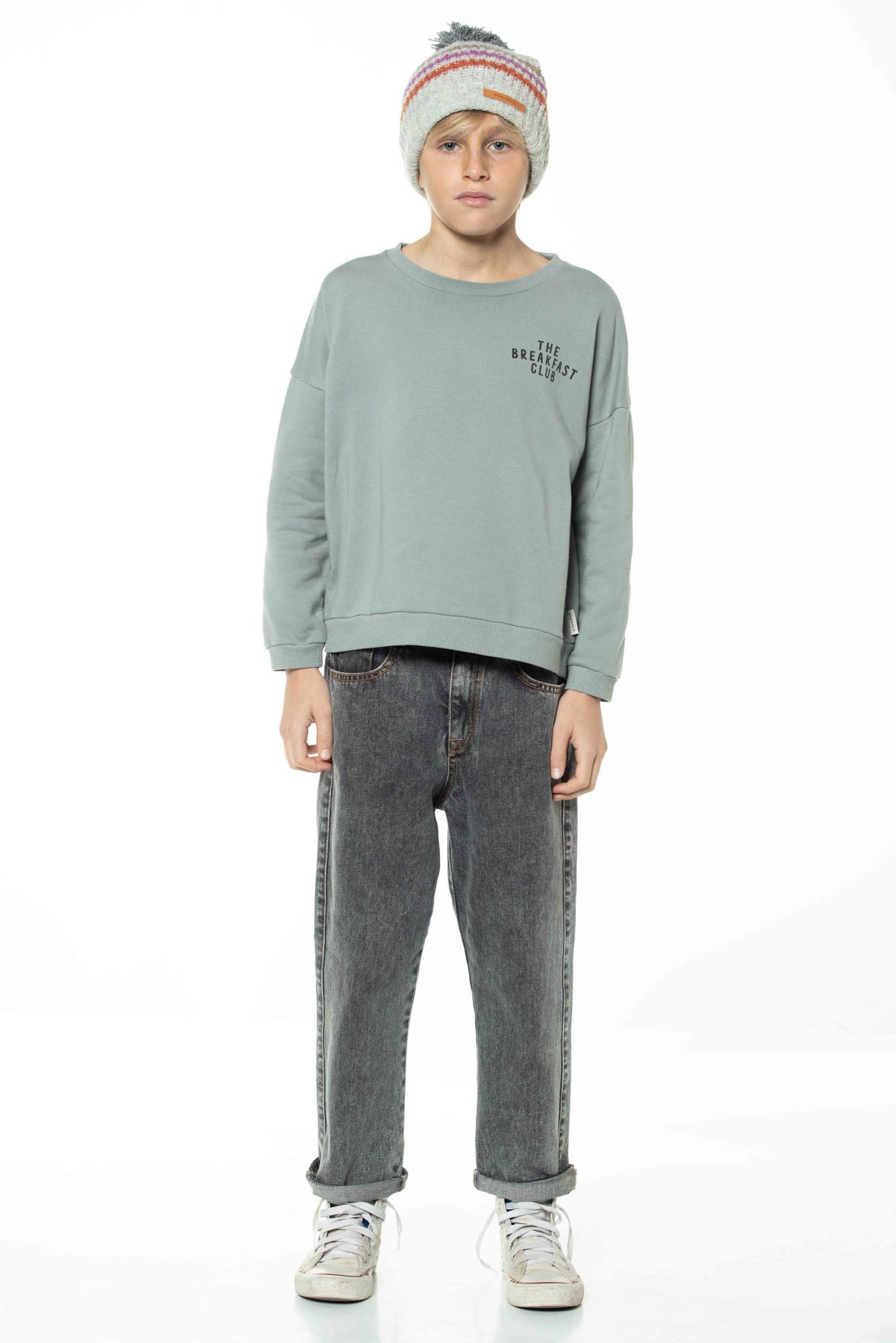 piupiuchick Unisex sweatshirt   grey w/ cereal box print