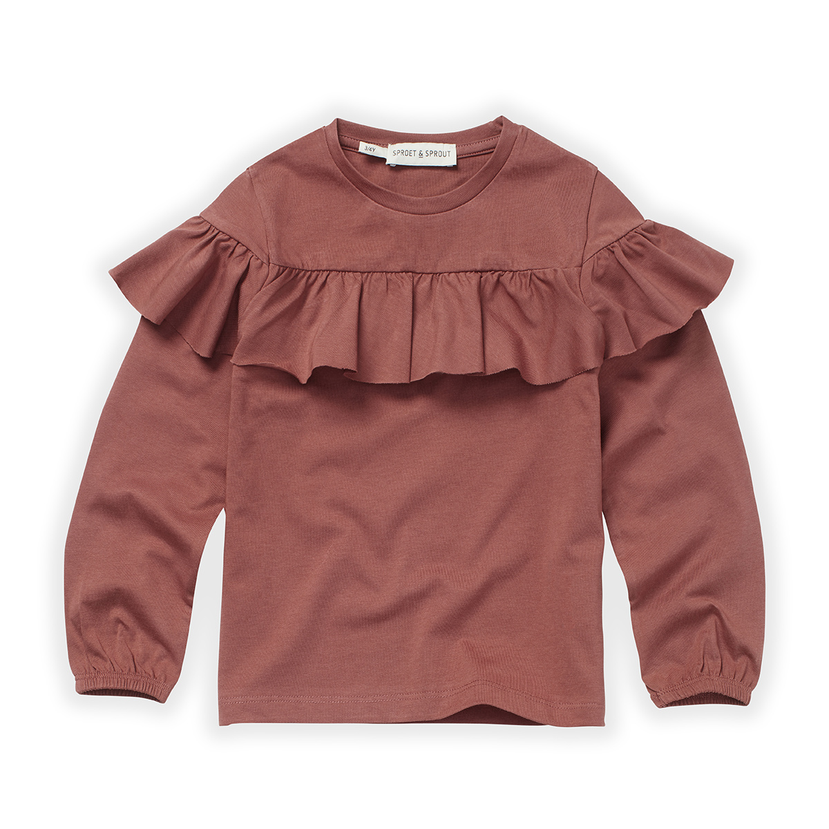 Sproet & Sprout T-Shirt ruffle fig