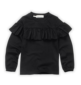 Sproet & Sprout T-Shirt ruffle black