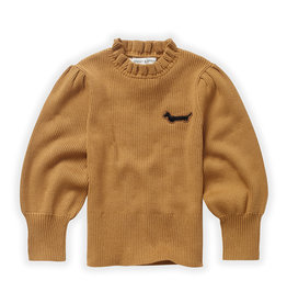 Sproet & Sprout Sweater turtleneck ruffle