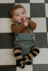 Sproet & Sprout Tights stripe nougat