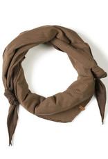 Nixnut Triangle scarf | Stripe Toffee