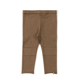 Nixnut Tight legging stripe Toffee