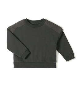 Nixnut Par sweater Ash