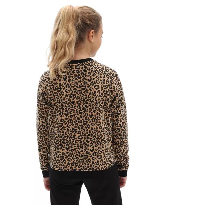 Vans Gr Leopard Crew Girls
