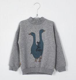 Lötie kids Sweatshirt MSS. & MR. Goose | grey melange
