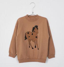 Lötie kids Sweatshirt Horse | peach