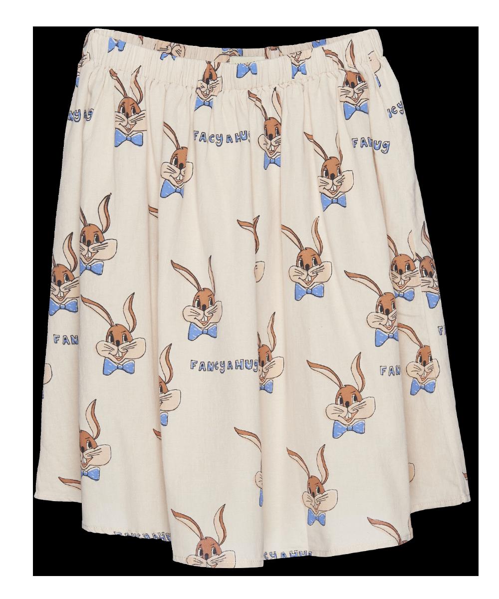 Wander & Wonder Slip Skirt   ecru bunny
