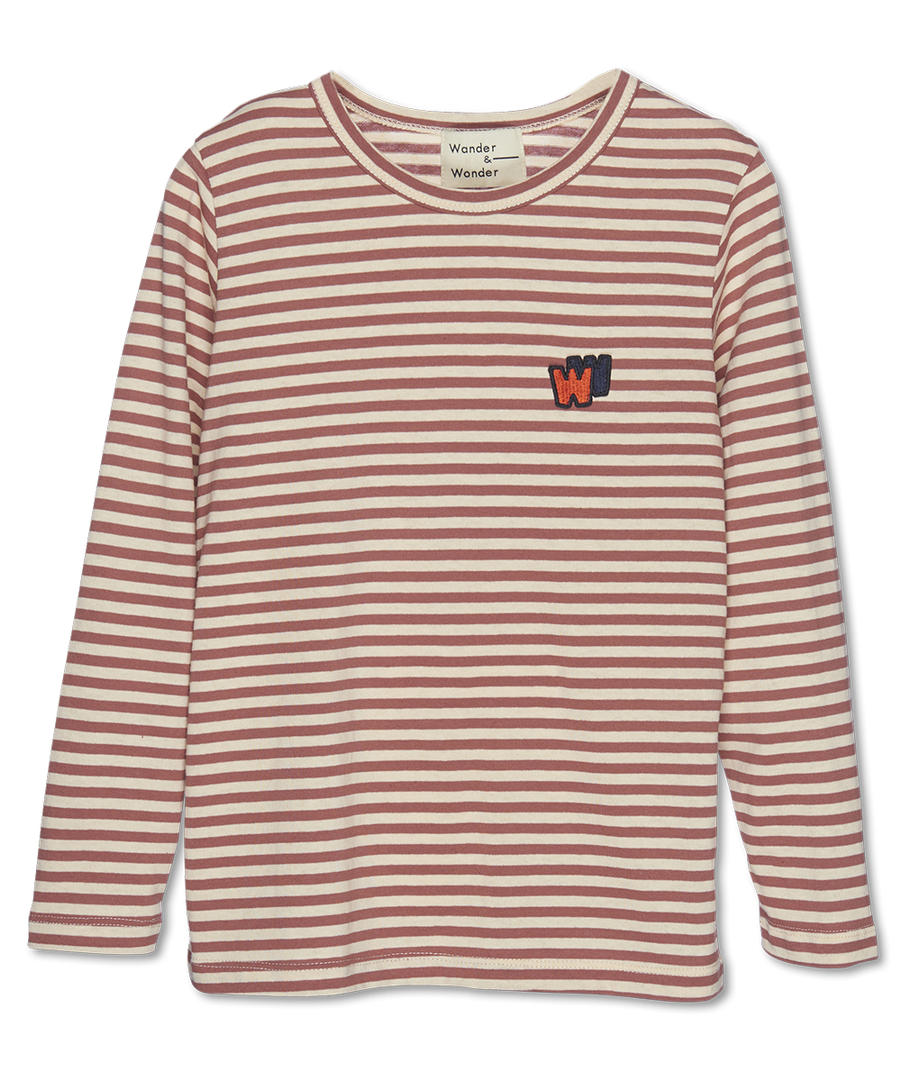 Wander & Wonder W&W Tee | cedar stripes