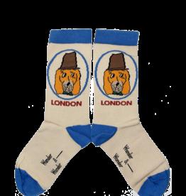 Wander & Wonder Doggy Socks | cream