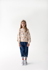 Wander & Wonder Bunny Sweatshirt | ecru bunny