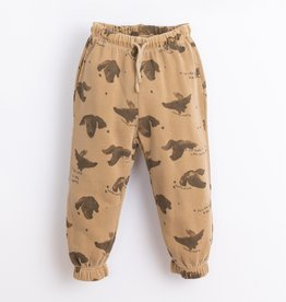 Play-up Printed Fleece Trousers | Paper