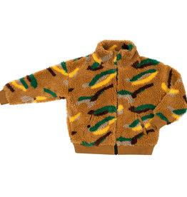 CarlijnQ Mountain Air | teddy cardigan wt zipper & pockets