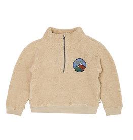 CarlijnQ Mountain Air | teddy sweater wt zipper
